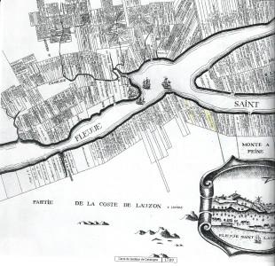 1709 carte de Gédéon de Catalogne