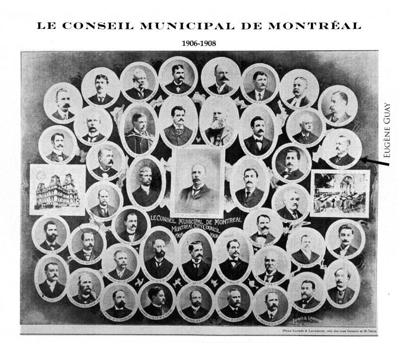 Conseil municipal 1906
