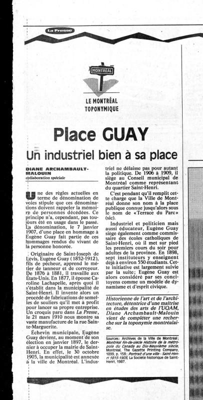 La Presse 14 juil 1992