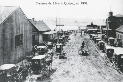 traverse en 1900
