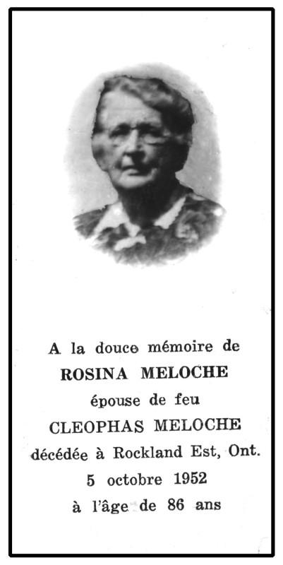 1952 - Meloche Rosina agmp
