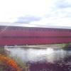 Pont couvert Pierre Heppell enjambe la rivière Causapscal