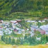 Peinture de Casapscal par Denise Veilleux-Tibault