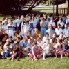 RENCONTRE DE CHERTSEY 1983 Photo de groupe lors de la grande rencontre familliale organisée par Jean-Louis Veilleux