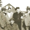 La mafia Veilleux au temps de la guerre: Rosaire Veilleux, Bruno et Jean-Louis, Jean-luc en uniforme, Delvina Gagnon-Veilleux, Camille et Charles Veilleux.