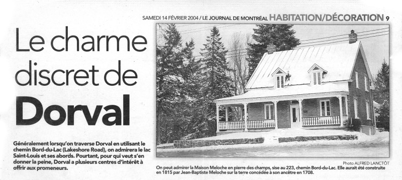 Maison Meloche Dorval